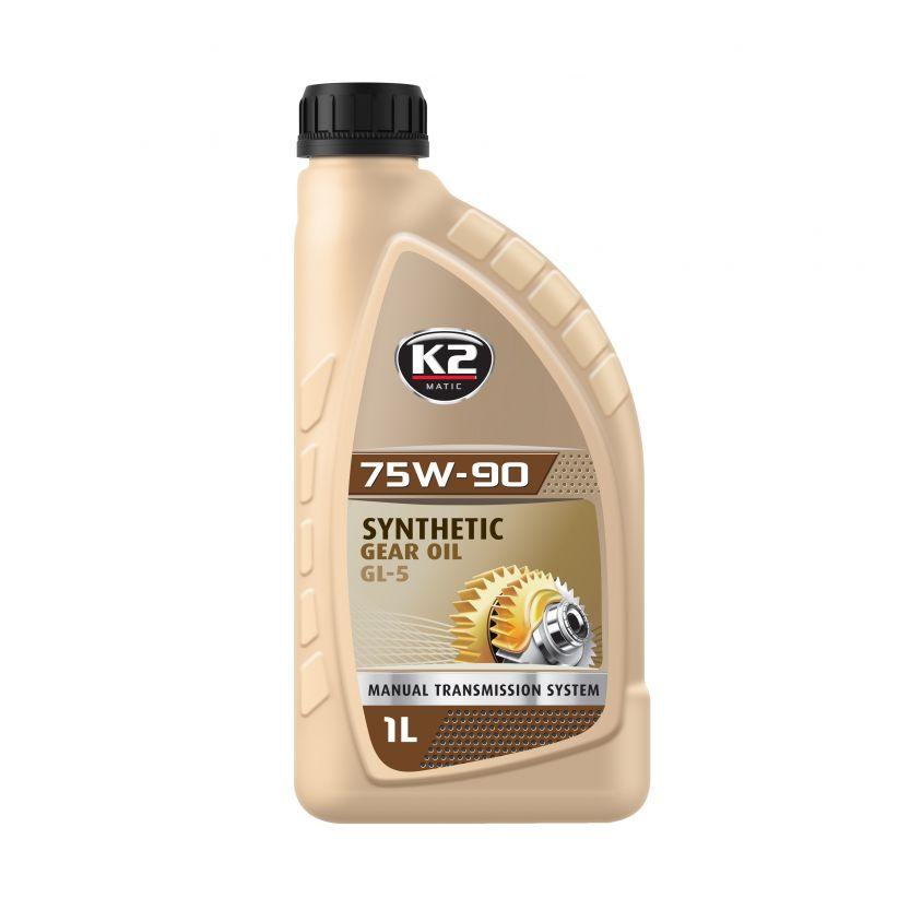K2 75W-90 GL5 GL4 1L