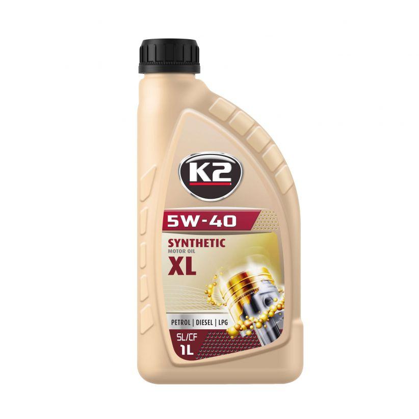 K2 TEXAR 5W-40 XL 1L