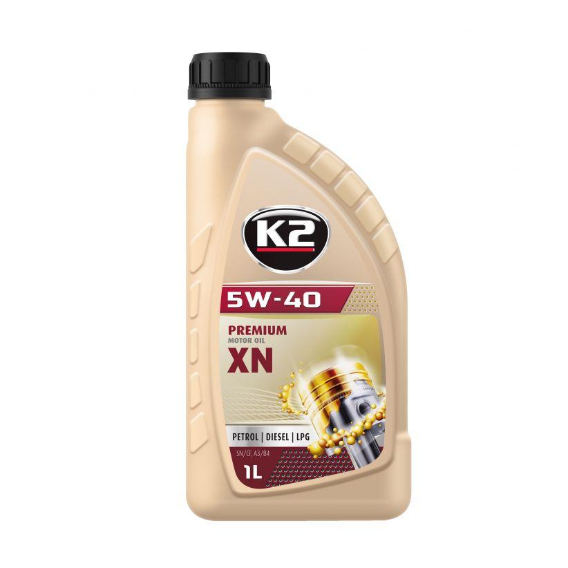 K2 TEXAR 5W-40 XN 1L