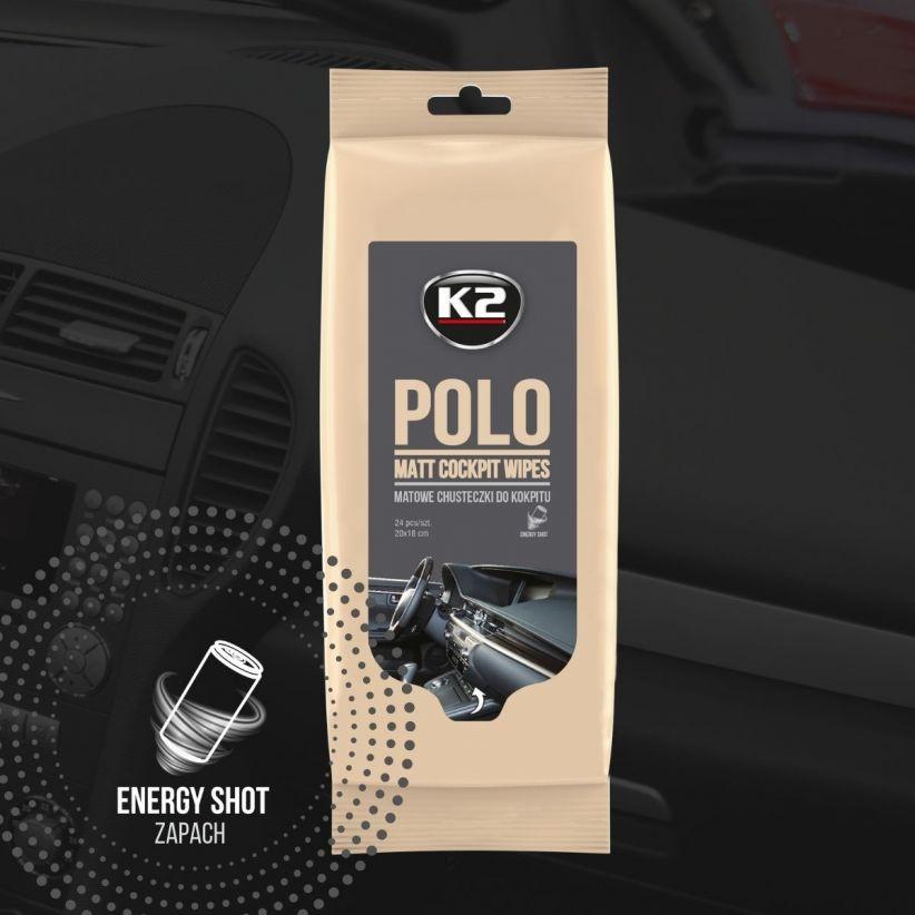 K2 POLO MATT WIPES