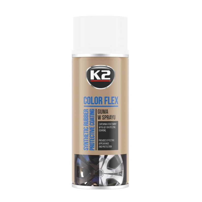 K2 COLOR FLEX BIAŁY 400 ML